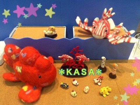 『OSAKAアート&てづくりバザール vol.17』イベントディスプレイてづバ