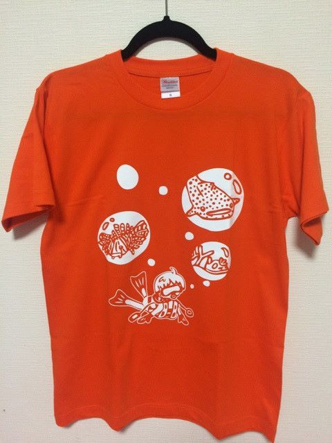 Tシャツ Tシャツ オレンジ